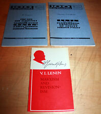 LENIN BOOKS POLICY MARXISM SOVIET RUSSIA NOVOSTI PRESS- propaganda communism