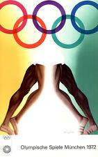 Olympische Spiele 1972 München LIMITIERT 4000 Kunst-Motiv Plakat Allen Jones