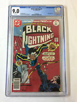 1977 DC Comics BLACK LIGHTNING #2 ~ CGC 9.0