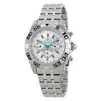 Invicta Signature II Chronograph Silver Dial Mens Watch 7302