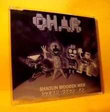 MAXI Single CD Shaolin Wooden Men Ohar 4TR 1994 Techno Goa Trance Ambient SEALED