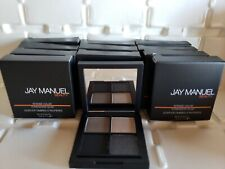 Jay Manuel x3  Intense Color Eyeshadow Quad Narcotic BNIB  black grey smokey eye
