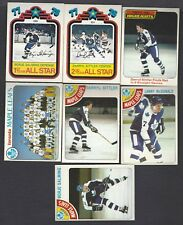 1978-79 OPC O-PEE-CHEE Toronto Maple Leafs Partial Team Set 22/23 EX Or Better