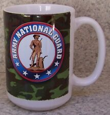 Coffee Mug Military Army National Guard New 14 ounce cup with gift box