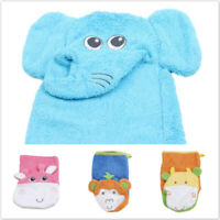 Children Bath Wipe Baby Bath Exfoliating Shower Gloves Baby Bathing Towels D