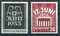 Berlin Nr. 110 - 111 sauber postfrisch Volksaufstand 1953 Michel 50,00 € MNH