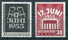 Berlin 110 - 111 postfrisch Volksaufstand 1953 Michel 50,00 Euro MNH
