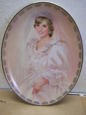 "BRADFORD EXCHANGE.DIANA PRINCESS OF WALES ""The People's Princess"" Plate"