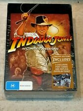 Indiana Jones The Complete Collection DVD Region 4 NEW & SEALED Limited Edition