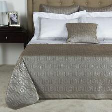 $3300 NEW Frette LUX INTERNATIONAL Coverlet Grey WOOL SILK Silver KING Bedspread