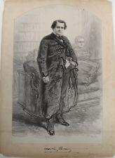 Lithographie originale, P. Gavarni (1804-1866), Napoléon Bonaparte(1822-1891)