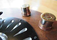Guitar knob brass Remington 12 gauge with liberty copper ring knob.