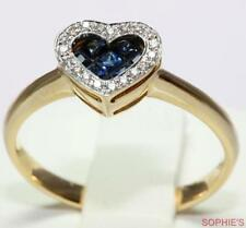 Sapphire Yellow Gold 18k Engagement Rings