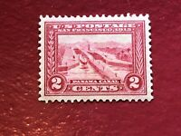 US SCOTT Cat # 398 MH OG VF-XF Panama-Pacific 2c Stamp FREE S&H Well Centered