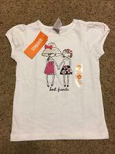 New Gymboree Girls Daisy Park Tee Top Shirt Sz 3T Best Friends Tee