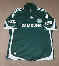 FC Palmeiras adidas Authentic Soccer Football Jersey XL Sao Paolo Brazil #7