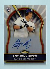ANTHONY RIZZO 2011 TOPPS FINEST RC REFRACTOR AUTOGRAPH AUTO /499