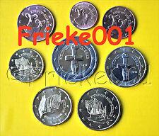 Cyprus - Chypre - 1 cent tot 2 euro 2016 unc.