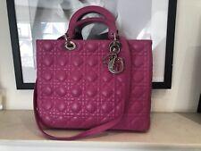 Christian Dior Lady Dior Pink Bag