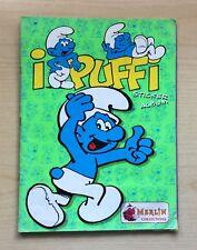 FIGURINE MERLIN - I PUFFI  1996 - PEYO - MANCOLISTA DI FIG. RECUPERATE - LEGGI