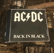 AC/DC BACK IN BLACK CD A2 16018 COLUMBIA HOUSE RARE (1980) EARLY PRESS
