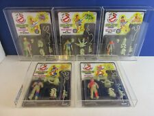vintage ECTO GLOW FULL SET action figure GHOSTBUSTERS carded MOC UKG not AFA