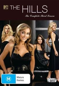 The Hills - Season 3 - 4-Disc Set - New & Sealed Region 4 DVD - FREE POST.