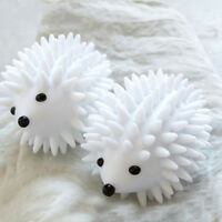 2Pcs Hedgehog Drying Washing Machine Laundry Ball Anti winding Clean Tool