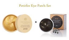 [PETITFEE] Gold & Snail and Black Pearl & Gold Hydrogel Eye Patch Set - 1.4g