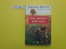 J 4314 LIBRO VINO PATATE E MELE ROSSE DI JOANNE HARRIS