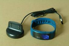 Samsung Gear Fit 2 Activity Fitness Tracker Smart Watch Blue with Large Strap