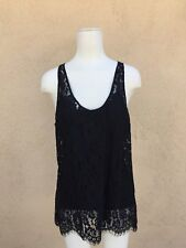 NWOT JOIE BLACK LACE TOP  SMALL S $189 WOW