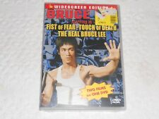 DVD- BRUCE LEE, FIST OF FEAR-TOUCH OF DEATH-THE REAL BRUCE LEE  / SEALED