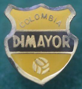 Rare Colombia Dimayor FC Football Enamel Pin Badge Calcio Distintivo