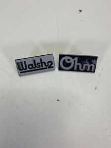 Ohm Walsh 2 Speaker Name Plate Tag