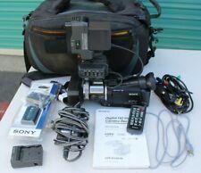 Sony Model Hvr-A1U Hdv 1080i Camcorder Manual Batteries & Case Np-Fm50 Np-Qm91D
