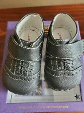 Baby Boy Black Shoes Orig. $42 size 0 - 6 months
