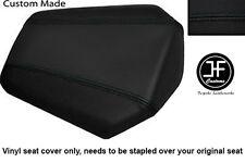 Vinilo Negro Personalizado se ajusta a Honda CBR 1000 RR Fireblade 08-12 Trasero Cubierta de asiento solamente