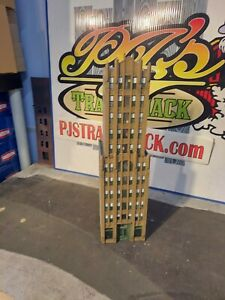 HO Scale Building Falcon Tower Building Built Painted Weathered