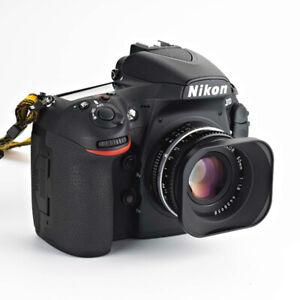 52mm Square Metal lens Hood fr Sigma Panasonic Contax Olympus Nikkor Camera Lens