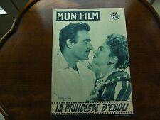 la princesse d'éboli-mon film-olivia de havilland,gilbert roland-giselle pascal