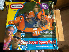 New Little Tikes Dino Super Spray Inflatable Pool Or Ball Pit Super Fun Water