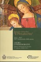 "2 Euro Gedenkmünze 2013, San Marino, ""Il Pinturicchio"", im Original-Folder"