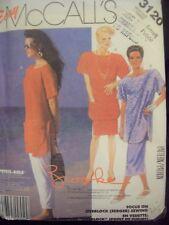 McCalls Pattern 3120 Brooke Shields Easy Sew Top, Skirt, Pants Cut Size 10
