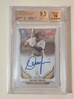 2014 Bowman Chrome Devon Travis RC Rookie Autograph (BGS 9.5) AUTO 10