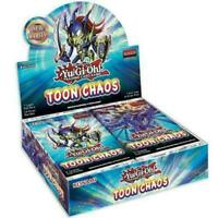 YuGiOh Toon Chaos Booster Box 1st Edition Factory Sealed English SHIPS 6/19