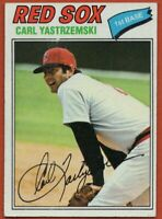 1977 Topps #480 Carl Yastrzemski EX-EXMINT Boston Red Sox FREE SHIPPING