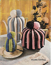 Vintage Traditional Tea / Coffee / Egg Cosy knitting pattern 1940s Bellmans