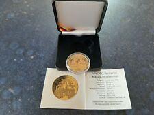 BRD 100 Euro Goldmünze UNESCO Welterbe 2006 - Weimar, Prägestätte A
