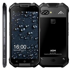 AGM X2 Rugged Phone Octa-Core CPU Android 7.1 6GB RAM IP68 1080p 2 x 128GB